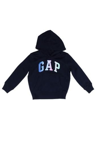 Gap navy Brand Logo Hoodie 3A035KA69890DBGS_1