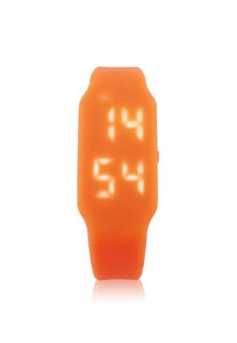 Fashion by Latest Gadget orange 8GB USB LED Watch FA499AC04GQLPH_1