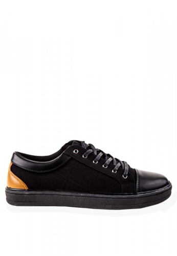 Otto black Canvass Sneakers OT407SH0KKEHPH_1