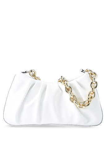 Red's Revenge white Isla Chainlink Shoulder Bag E71E5ACF42D8B9GS_1