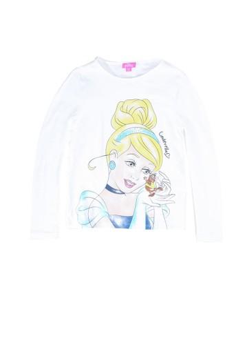 OVS white Disney Cinderella Diamante T-Shirt A2AC6KAB27B70DGS_1