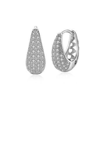 Glamorousky white Romantic Elegant Noble Luxury Fashion Earrings with Cubic Zircon 2B12AAC6B2B7AEGS_1