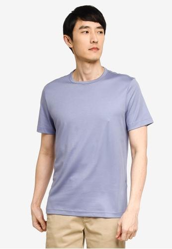 Banana Republic blue Luxury Touch Performance T-Shirt 23F08AAEB9B07BGS_1
