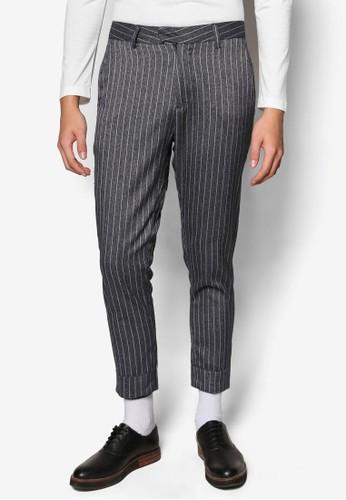 直條紋九分長褲, 服飾, esprit 衣服直筒褲