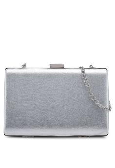 9273c6dc053 Dorothy Perkins silver Silver Box Clutch Bag 5B195ACE5D6C1BGS_1