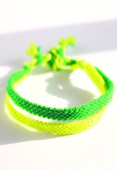 Monochrome Twin Bracelet