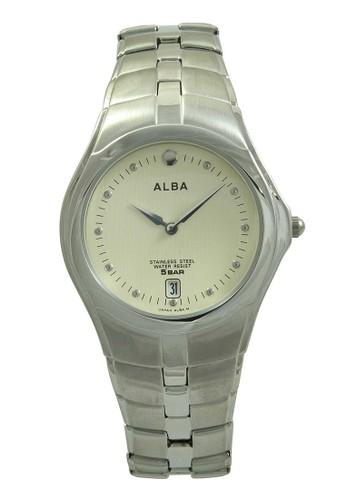 Alba silver ALBA Jam Tangan Pria - Silver Ivory - Stainless Steel - AVKB77 AL383AC38UWRID_1