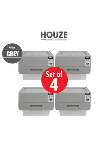 HOUZE grey [SET OF 4] HOUZE 35L Pelican Box - Grey E83E5HL138E489GS_1