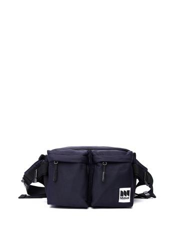 Milliot & Co. black Dean Waist Bag 7085DACAEE424EGS_1