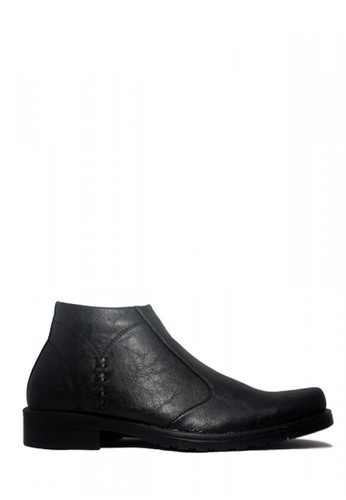 D-Island black D-Island Shoes Office Slip On Loafers Leather Black DI594SH45RWSID_1