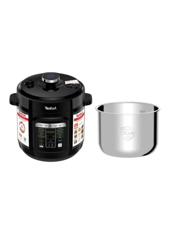 TEFAL Tefal Home Chef Smart 6L Multicooker CY601 with Stainless Steel Pot 7EA23HL4C66138GS_1