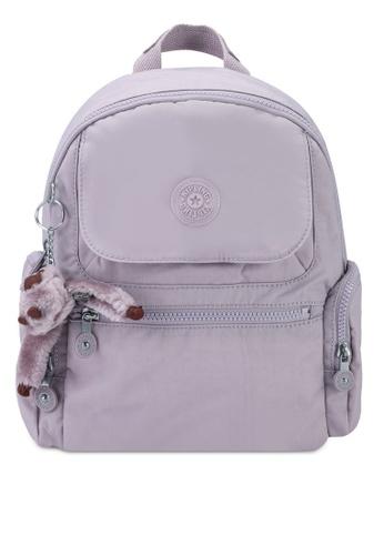 Kipling grey Matta Backpack 09618ACF2A12F1GS_1