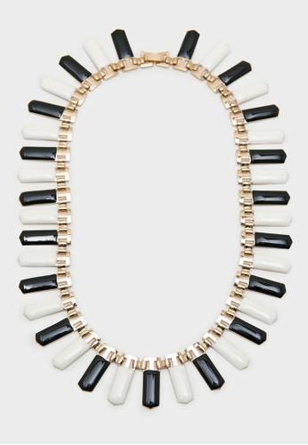 Berrybenka Label black Malou Necklace Gold 02240AC43E817EGS_1
