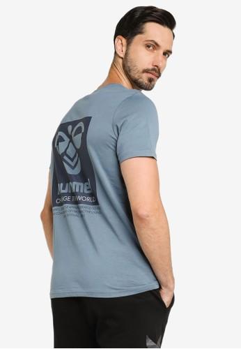 Hummel blue Toronto T-Shirt 0D9BAAA7D7F0D3GS_1