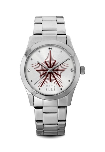 ELLE silver Fashion Ladies Watch SP241AC26LRDMY_1