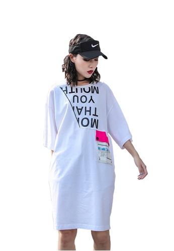 Twenty Eight Shoes Street Fashion Style Printed Dress DD6509 510A1AA2EF21B7GS_1