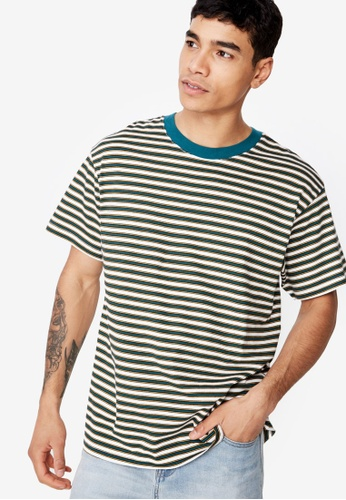 Cotton On 多色 短袖條紋T恤 34AECAA20003CEGS_1