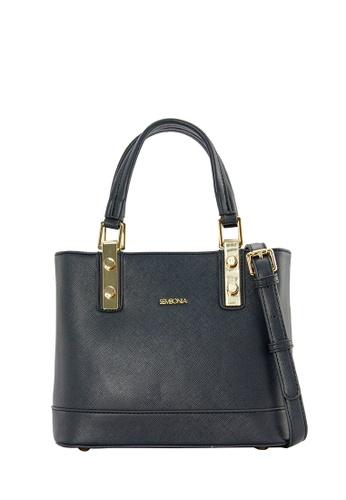 SEMBONIA blue SEMBONIA Synthetic Leather Tote Bag (Dark Blue) SE598AC0SBBYMY_1
