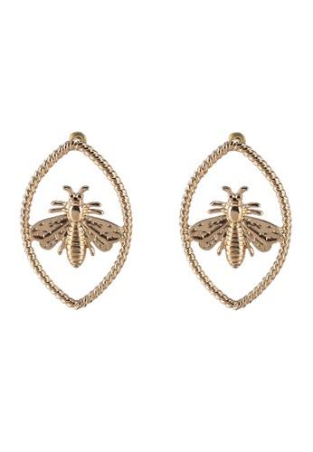 Megane gold Zeezbezz Earrings 6FEF9AC53B709BGS_1