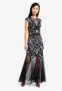 3c2856f7ee2 60% OFF Miss Selfridge Olivia Maxi Dress RM 889.00 NOW RM 355.90 Sizes 10 12
