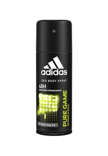 Adidas Body Care green Adidas Pure Game Deo Body Spray 150 ml AB141ESFBF819BGS_1