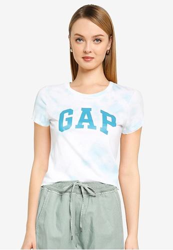 GAP blue V-Gap Classic Tee 53FC8AAF8F1E82GS_1