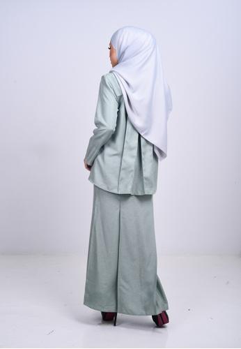 Buy Wirda Arfa Kurung Modern from KAMDAR in Green only 159.9