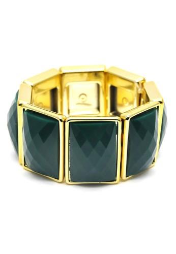 Istana Accessories Gelang Ferel Bracelet Fashion-Green