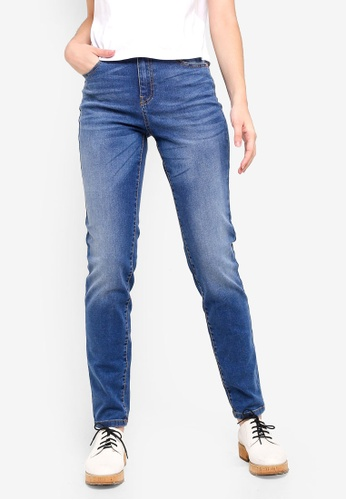 reputable site 0d517 715e5 Slim Fit High-waisted Jeans