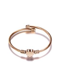 52e9014bf46 CELOVIS gold Hathaway Heart Cuff (Rose Gold) 60935AC1ACA1D3GS_1