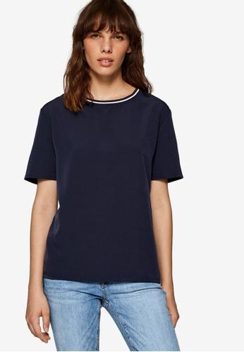 ESPRIT navy Short Sleeve T-Shirt 69A8CAAAD5ABA5GS_1