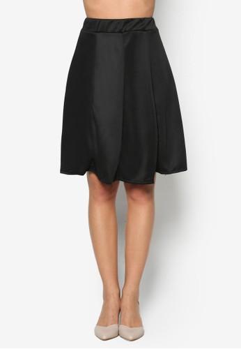 基本款傘擺短esprit台北門市裙, 韓系時尚, 梳妝