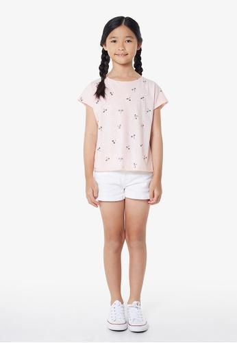 Gen Woo pink Quirky Conversational Printed T-shirt By Gen Woo AD38FKA4922E77GS_1