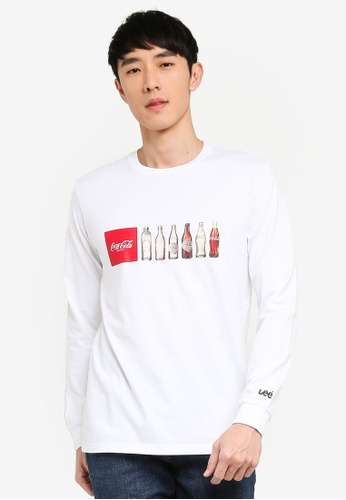 Lee Chest Logo Tee T-Shirt Donna