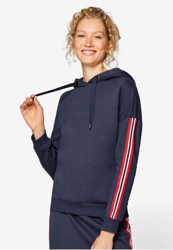 ESPRIT navy Long Sleeve Sweatshirt Hoodie 9F149AAA8155DDGS_1