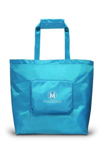 Monocozzi blue Lush Traveler Spare Bag (Large) MO983AC03VJGHK_1