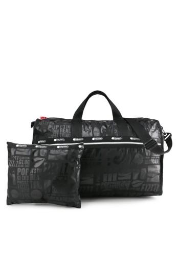 LeSportsac black Large Weekender 0D5CEAC25ADB23GS_1