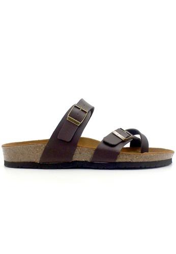 SoleSimple brown Dublin - Brown Sandals & Flip Flops 20F60SH7ED13D1GS_1