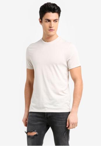 Topman 白色 Ecru Moon T-Shirt 5DC21AACDF6496GS_1