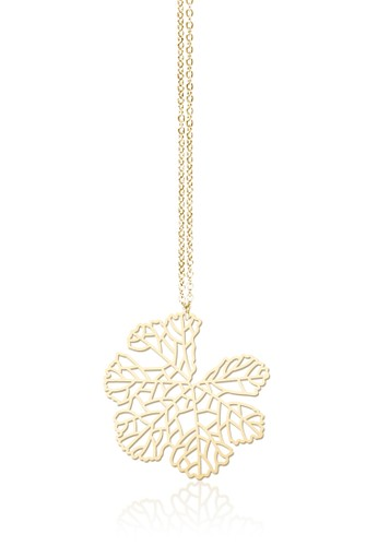 葉脈項鍊, 飾品esprit台灣outlet配件, 項鍊
