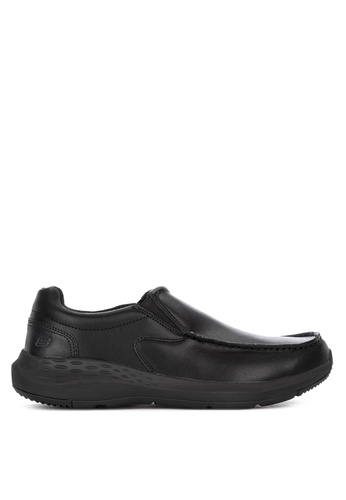 Skechers black Parson Magro Moc Toe Shoes 76B26SH703335DGS_1