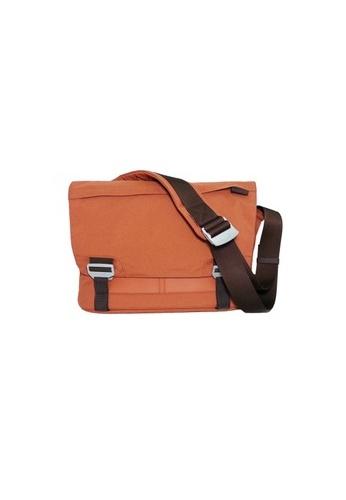 "bluelounge orange Bluelounge Messenger Bag Large - up to 17"" Laptop - Rust BL009AC66JCFSG_1"