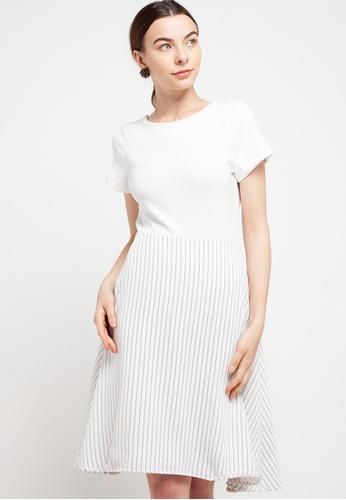 CHANIRA LA PAREZZA white Chanira Rachel Dress 54541AAAD011F2GS_1