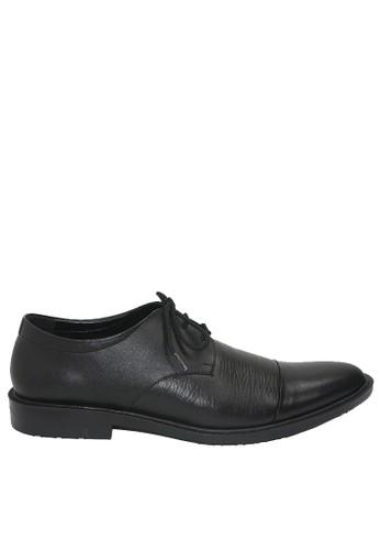 Dr. Kevin black Dr. Kevin Men Dress & Bussiness Formal Shoes 13382 - Black EED2FSH4C05E09GS_1