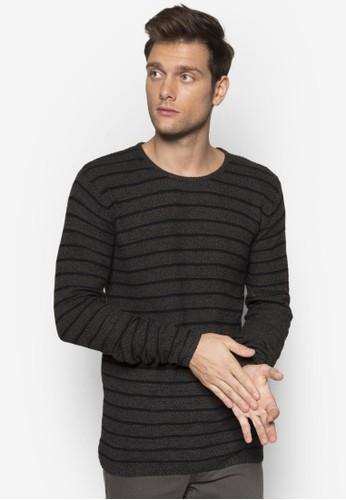 Elvinesprit outlet 旺角 條紋長袖衫, 服飾, 外套