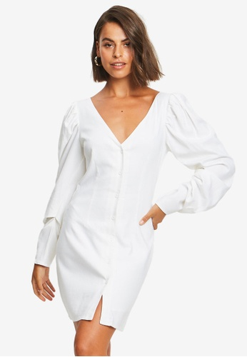Sável white Celina Mini Dress 6297FAA74122ECGS_1