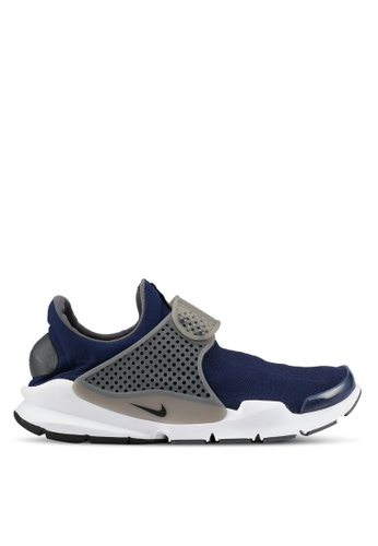 Nike navy Nike Sock Dart Men's Shoes NI126SH0SFBVMY_1