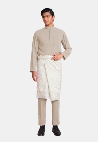 LosraVelda brown Baju Melayu Premium 5EC35AA9A533A0GS_1