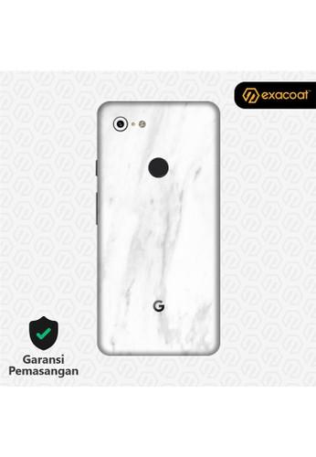 Exacoat Google Pixel 3 Xl 3M Skins Stone Series - Marble White 6C9D0ESC0D81CBGS_1