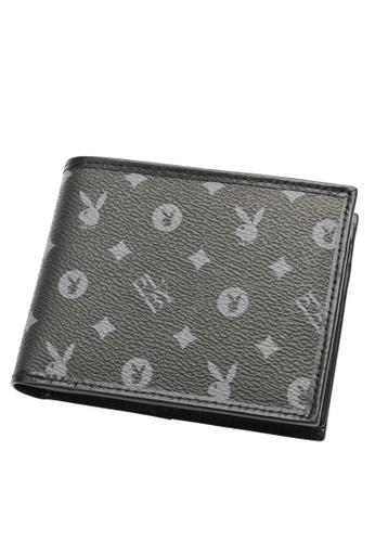 Playboy black RFID Blocking Wallet D22E3ACE250420GS_1